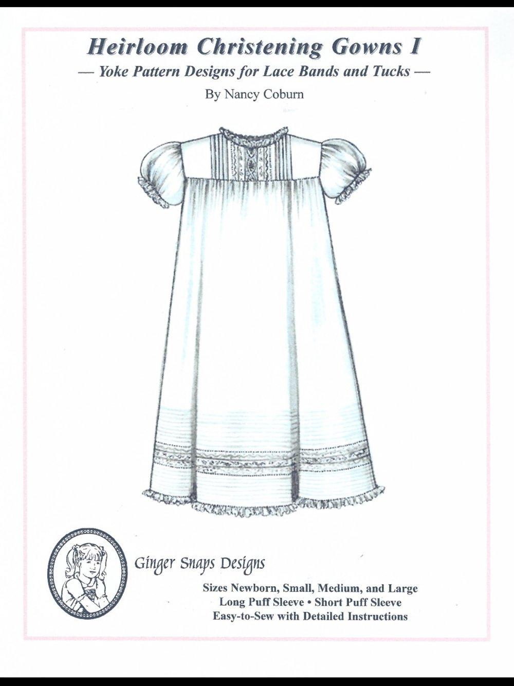 Ginger Snaps Designs Heirloom Christening Gowns I