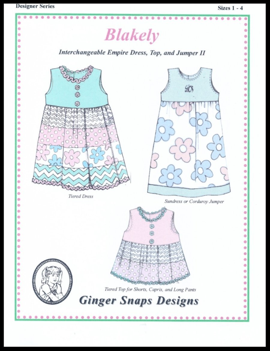 Ginger Snaps Designs Blakely (Small)
