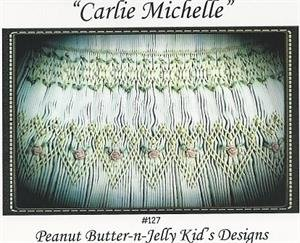Carlie Michelle Smocked Christmas Ball