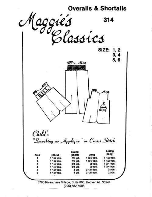 Maggie's Classics Overalls & Shortalls