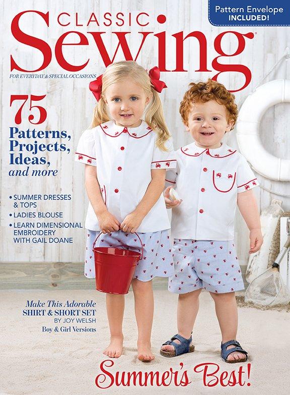 d84b0bd1d Classic Sewing Magazine Summer 2019