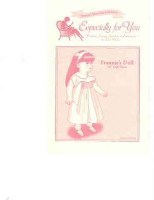 Frannie's Doll Pattern LWDOLL18