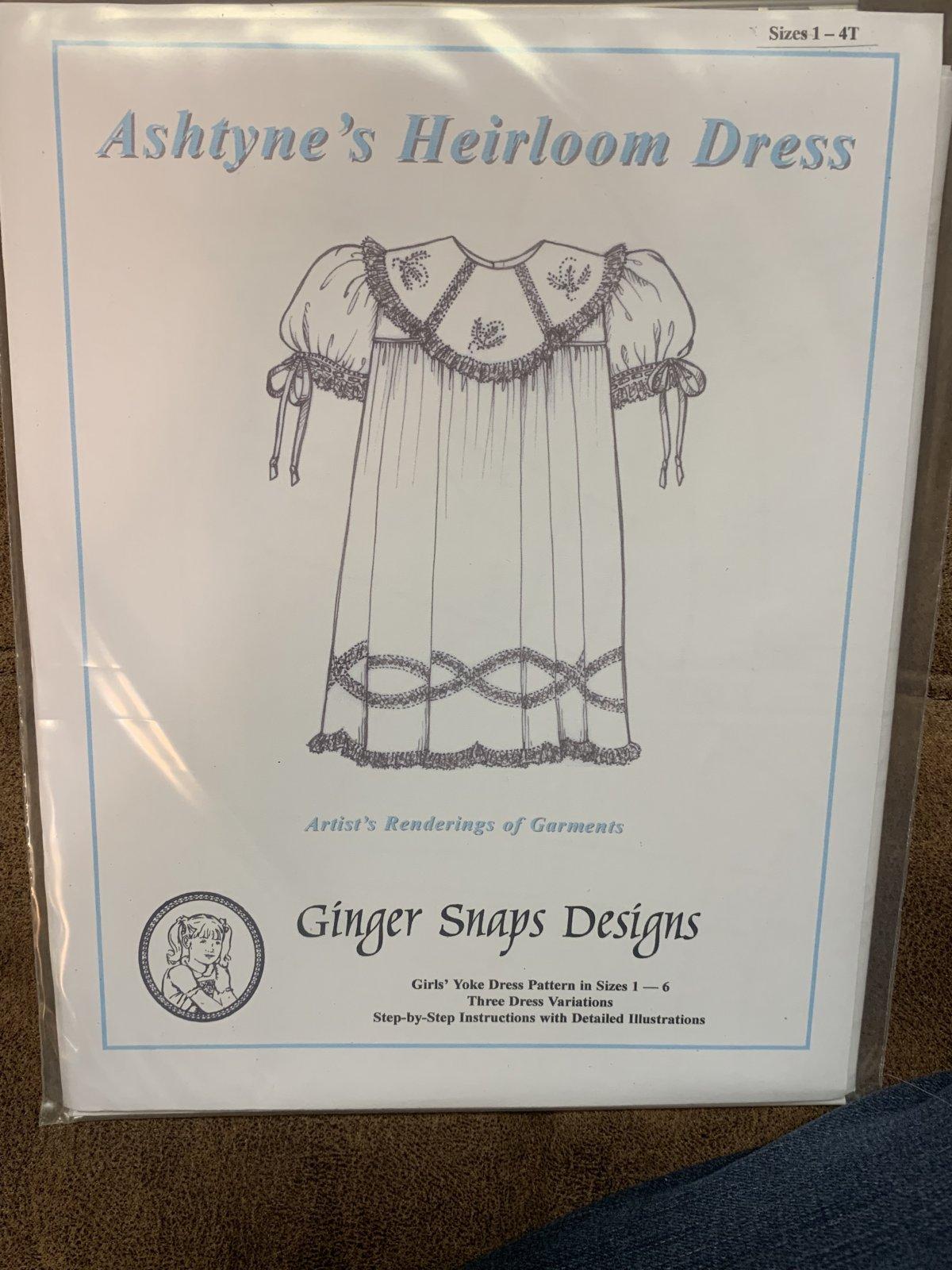 Ginger Snaps Designs Ashtyne's Dress