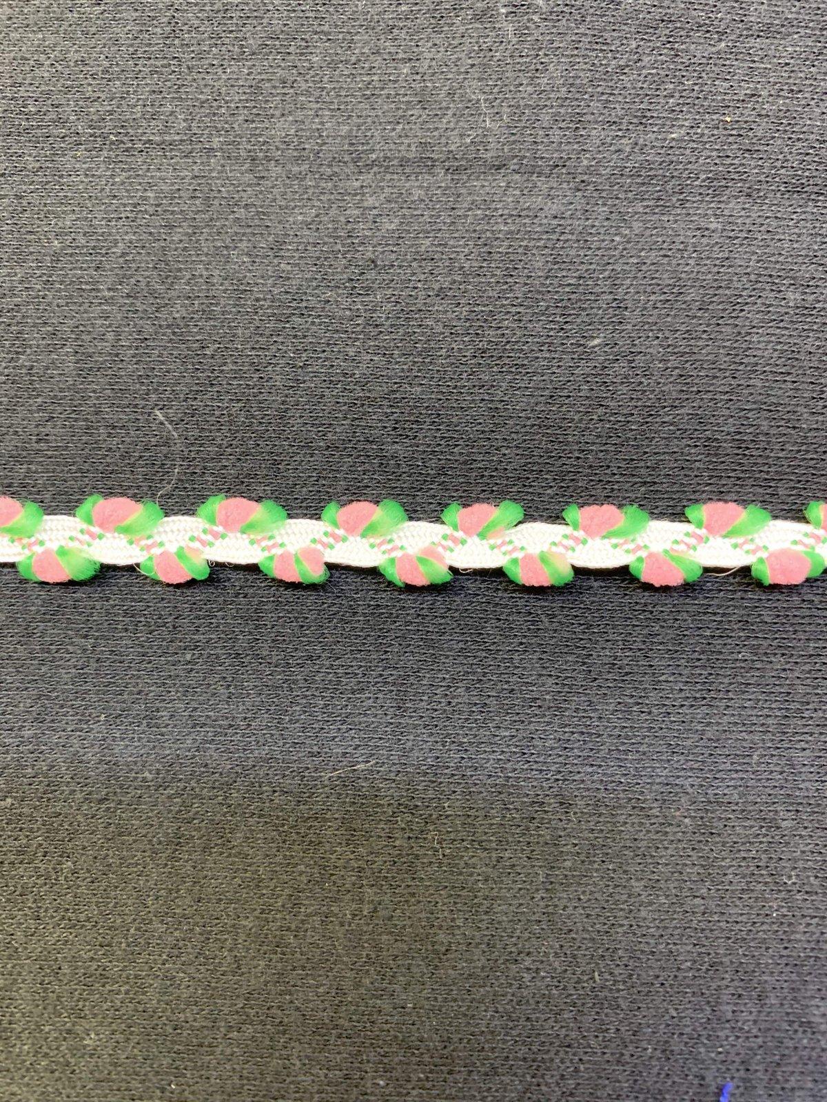 Flower Trim 5/8 - Pink