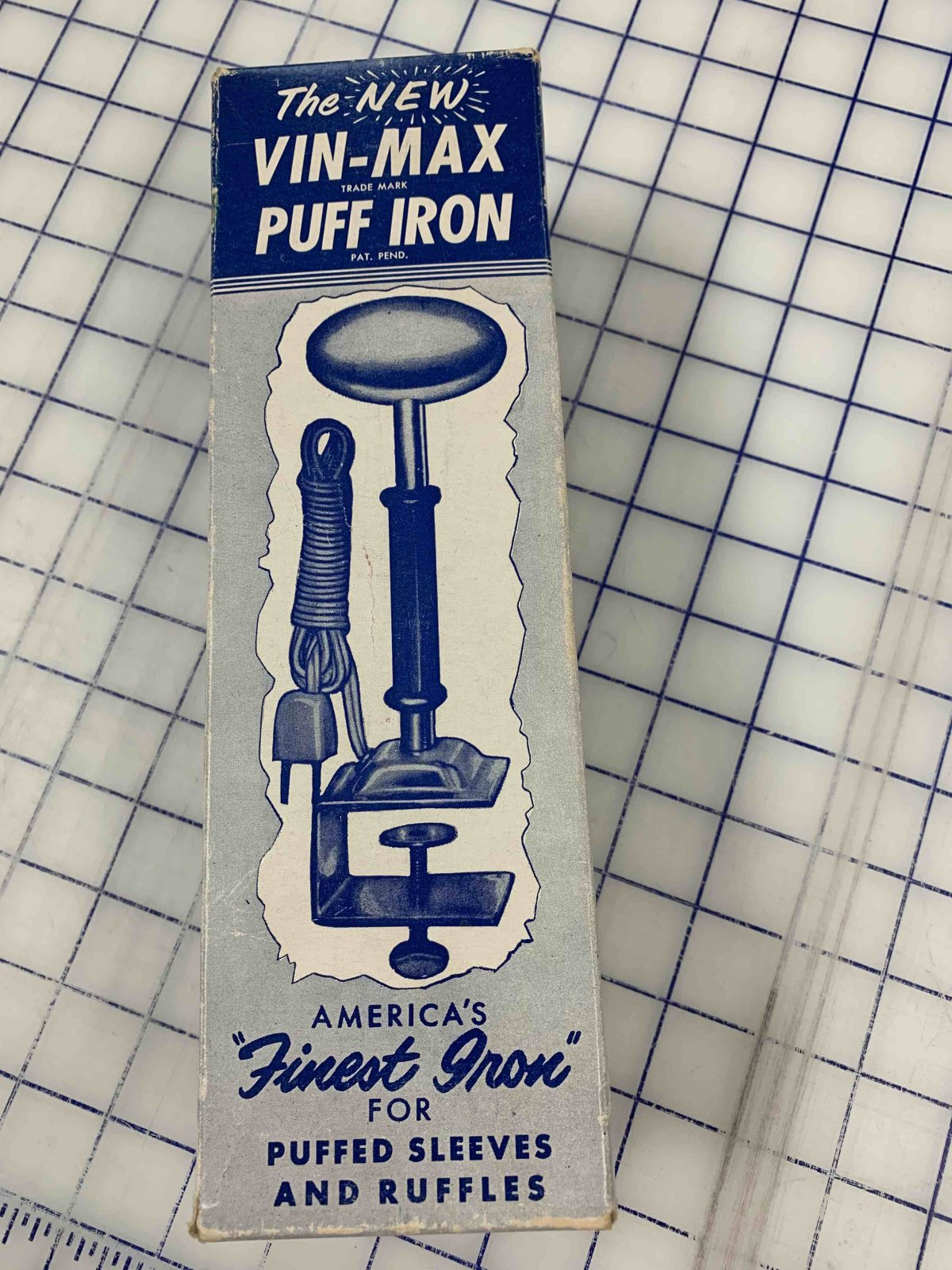 Vin-Max Puff Iron Model #2- Previously Loved