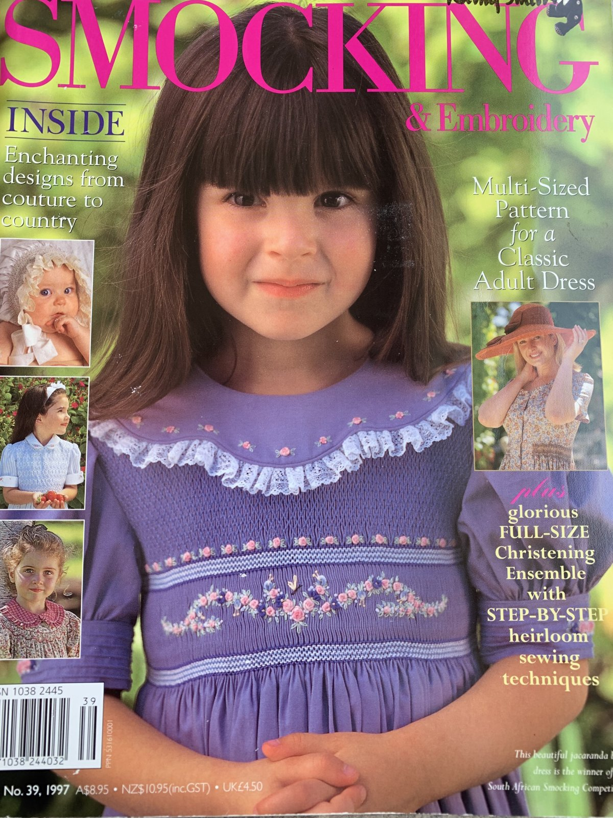 Australian Smocking & Embroidery Issue 39 (Previously Loved)