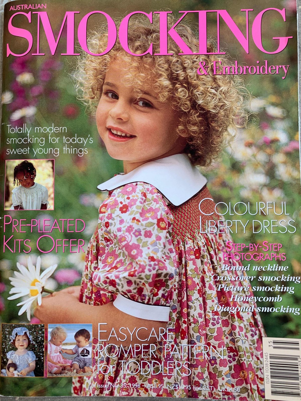 Australian Smocking & Embroidery Issue 35 (Previously Loved Item)