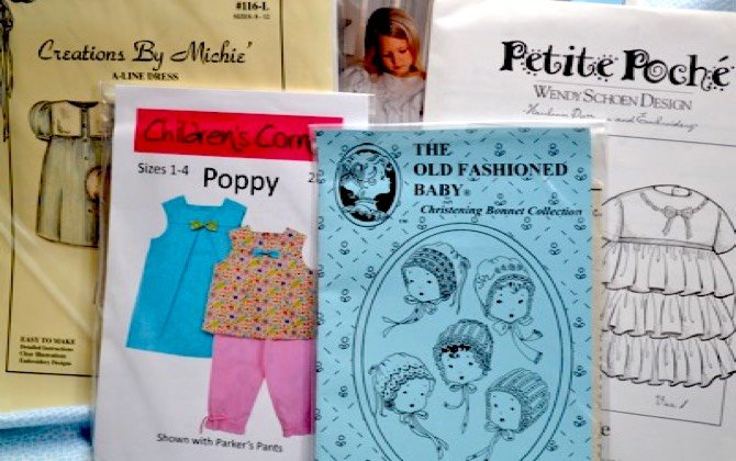 The Finest in Heirloom Sewing and Smocking Supplies