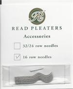 English Pleater Needles - 16 Row Read