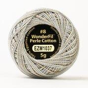 Eleganza variegated perle cotton #8 1037