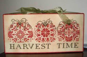 Harvest Time cross stitch