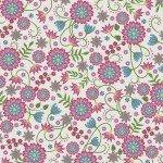 FV-Linen Large Flower 9880M-E