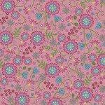 FV-Pink Large Flower 9880M-P