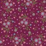 FV-Burgundy Meduim Flower 9881M-R