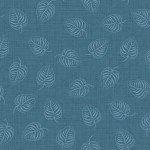 FV-Blue Tone on Tone Leaf 9883M-B