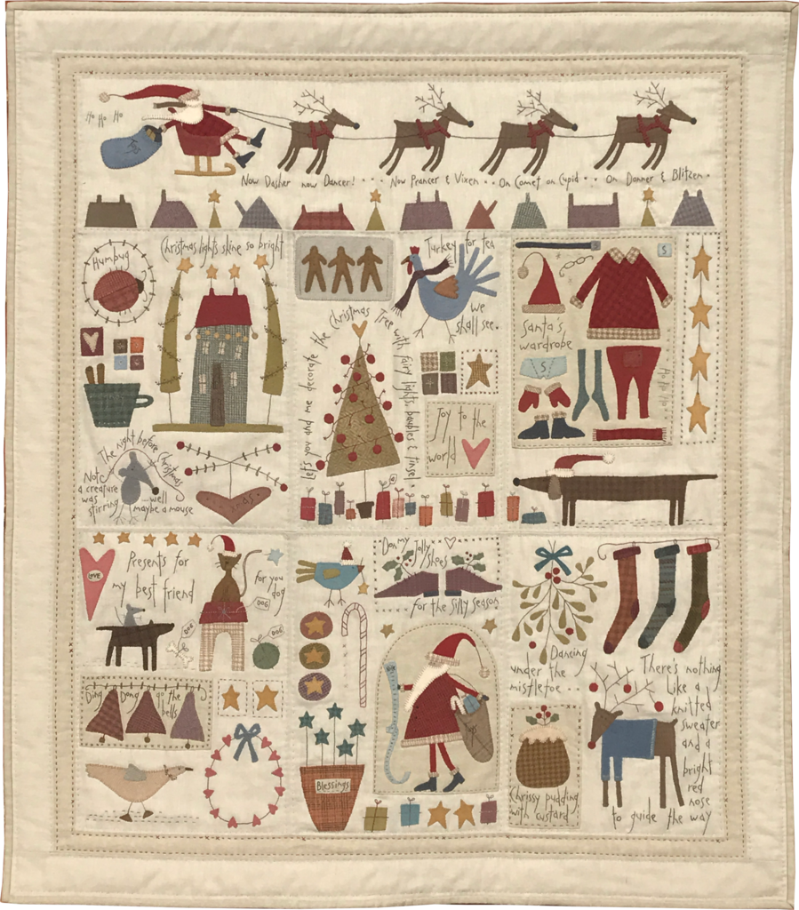 The Santa, The Tree, The Turkey & Me - Complete Kit