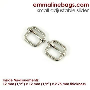 Strap Sliders 4 pack- nickel