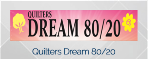 Quilters Dream 80/20 Batting -  King Size