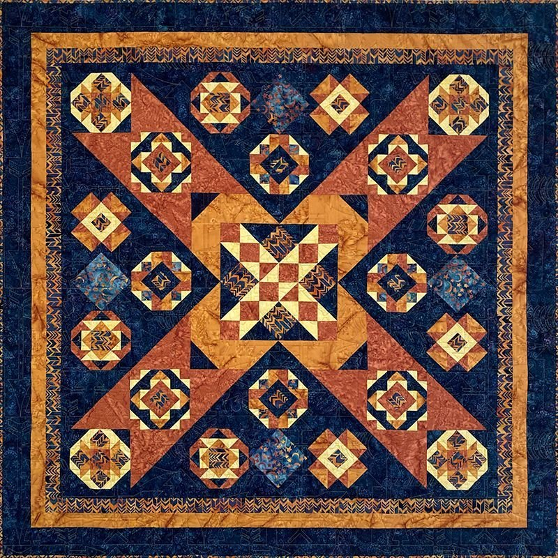 Aztek Dance Quilt Pattern