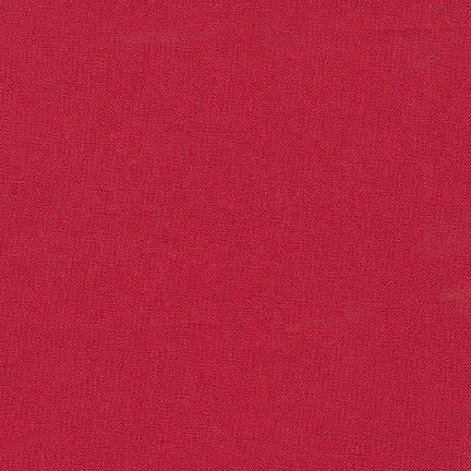 Essex 55% LINEN, 45% COTTON - Crimson
