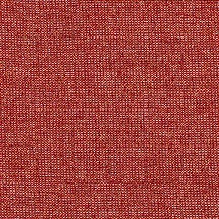 Essex Yarn Dyed Metallic - Ruby
