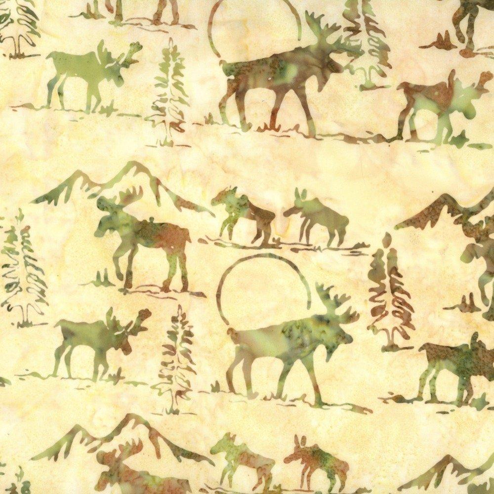 Custom Batik - Moose - Willow