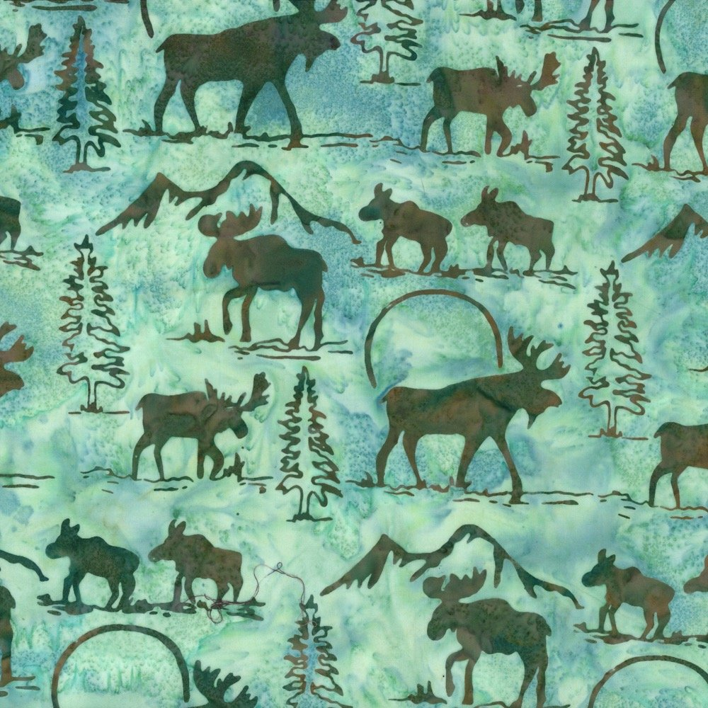 Custom Batik - Moose (Spa)