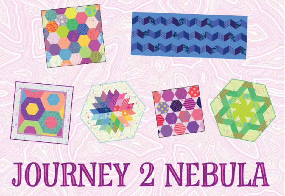 Set of 6 Journey to Nebula Patterns