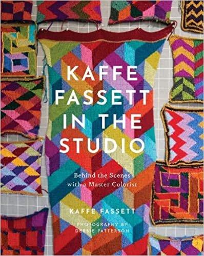 PRE-ORDER: Kaffe Fassett in the Studio (autographed!)