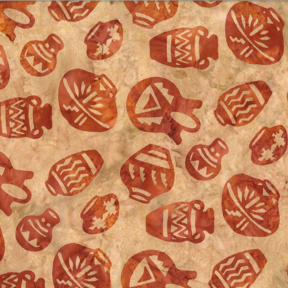 Custom Batik - Pottery - Terracotta