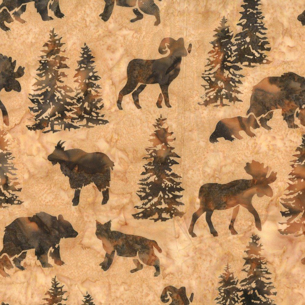 Custom Batik - Animal Silhouettes