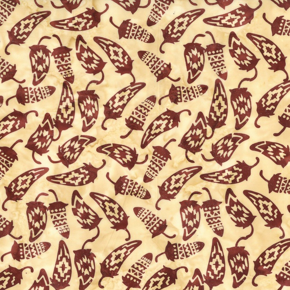 Custom Batik - Chili Peppers - Harvest