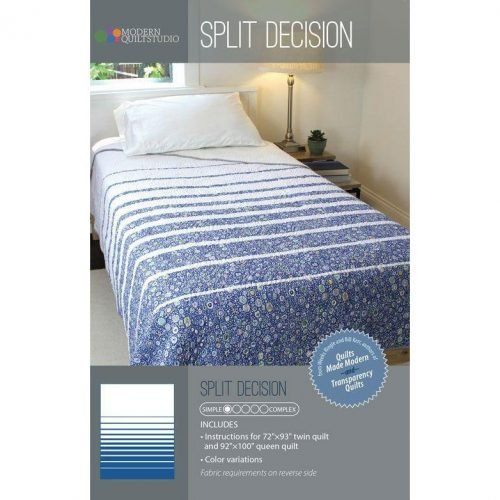 Modern Quilt Studio: Split Decision Pattern