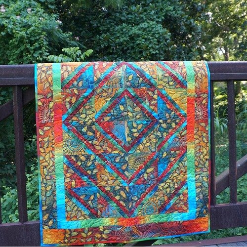 Sunshine in the Garden Quilt Kit
