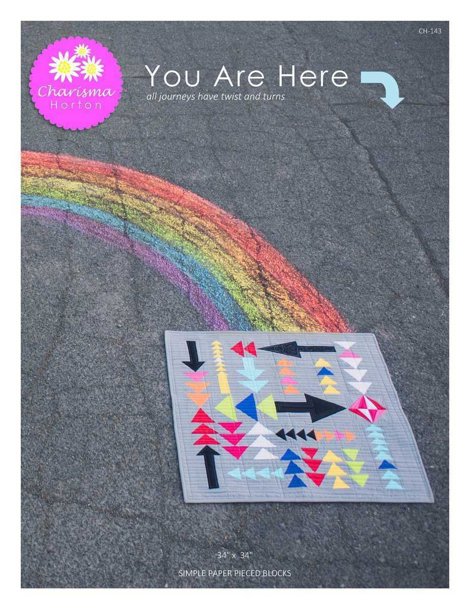 You are Here Quilt Pattern