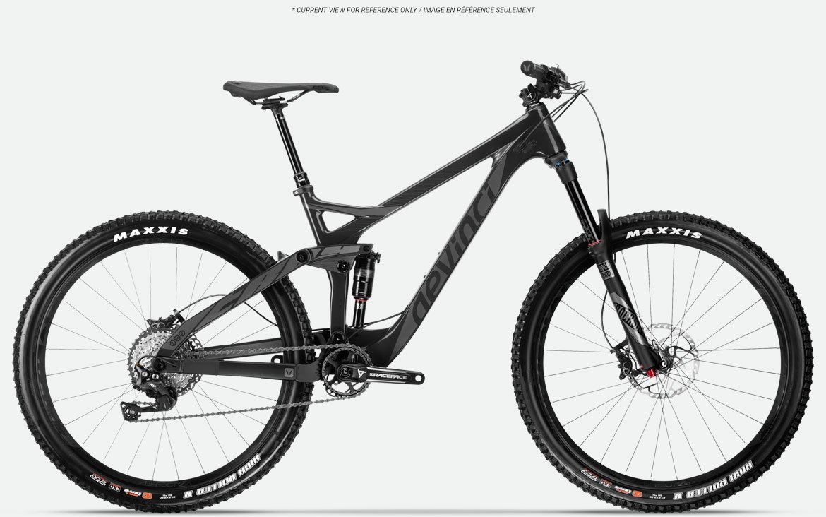 DEVINCI TROY NX CARBON XL RED