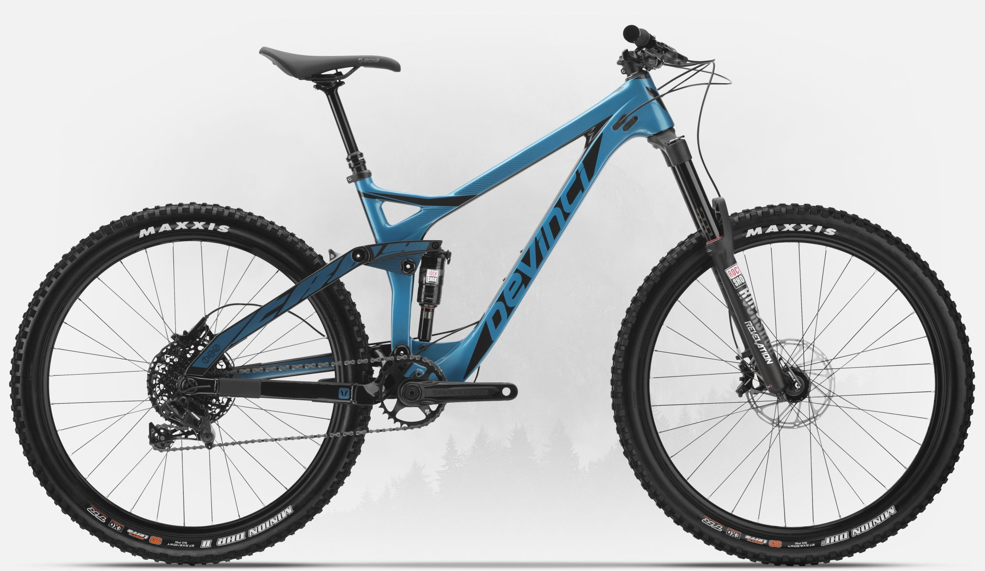 DEVINCI TROY CARBON GX LE LARGE BLUE