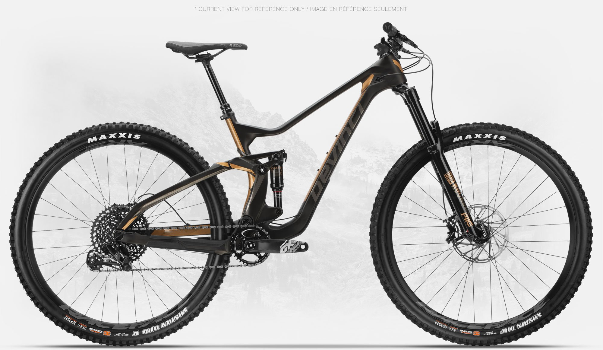 TROY CARBON 29ER GX EAGLE MEDIUM BLK/BRONZE