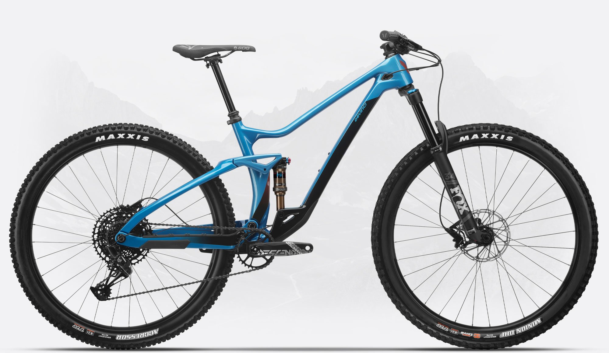 DJANGO CARBON 29 NX 12S MED BLUE