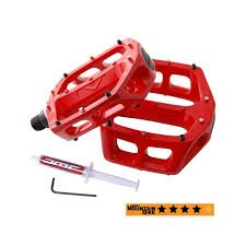 DMR V8 ALLOY PEDALS RED