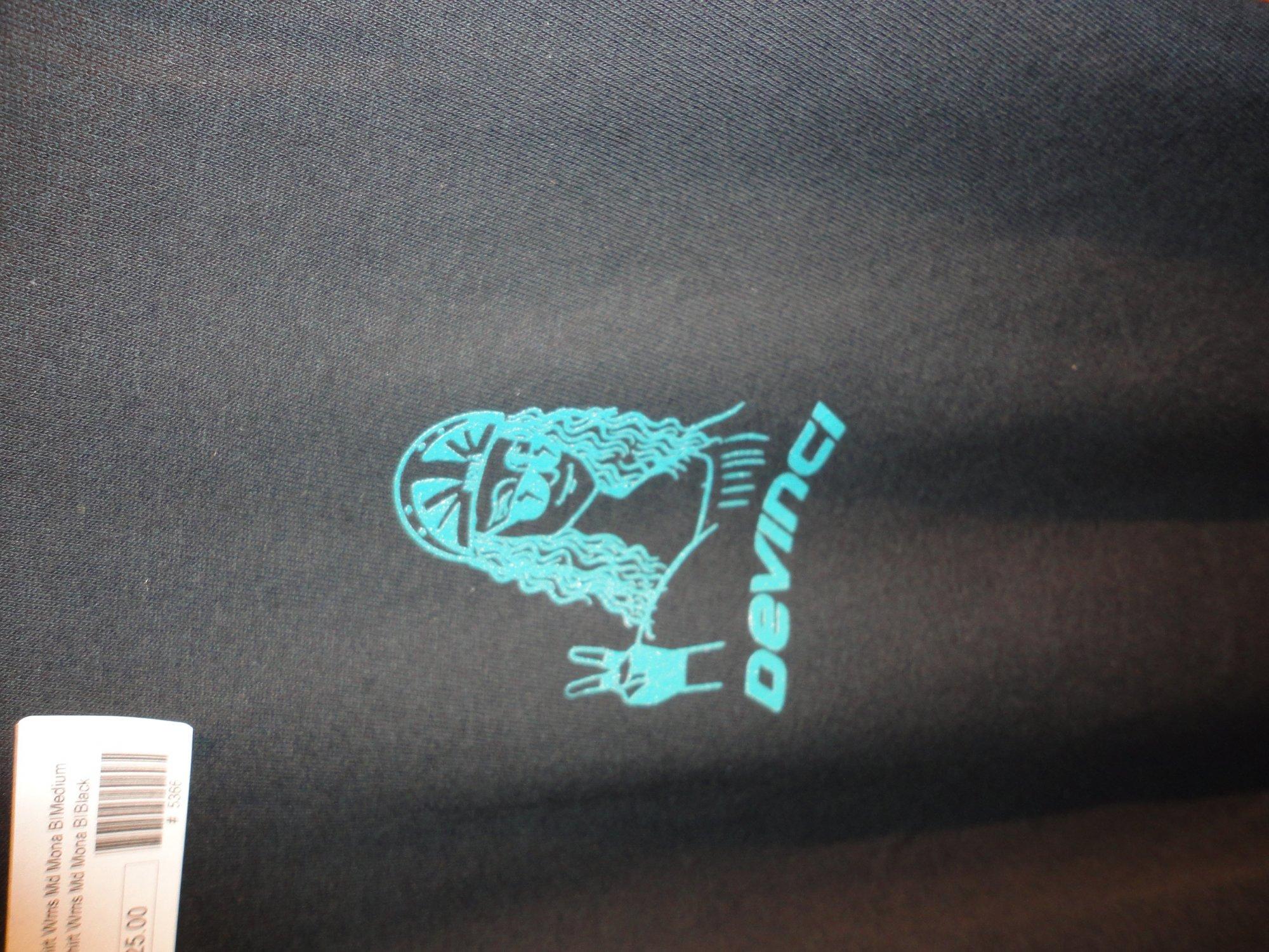 Devinci T-Shirt Wms LG Mona Blk