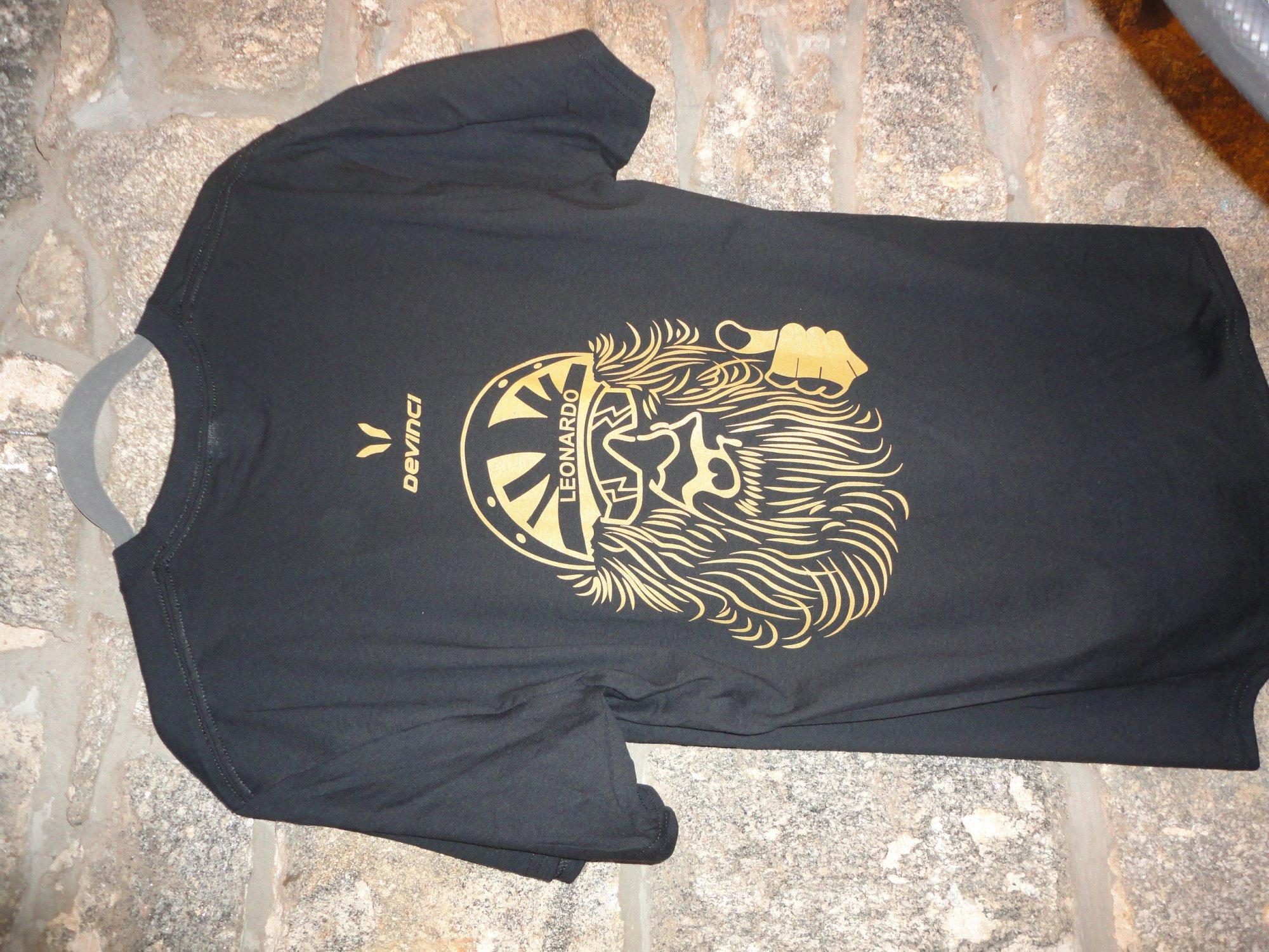 Devinci T-Shirt Men Lrg Leo Blk