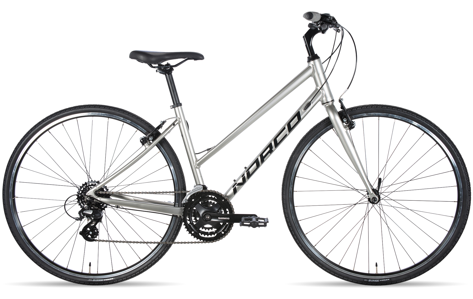 NORCO VFR 2 STEP-THRU XS SILVER