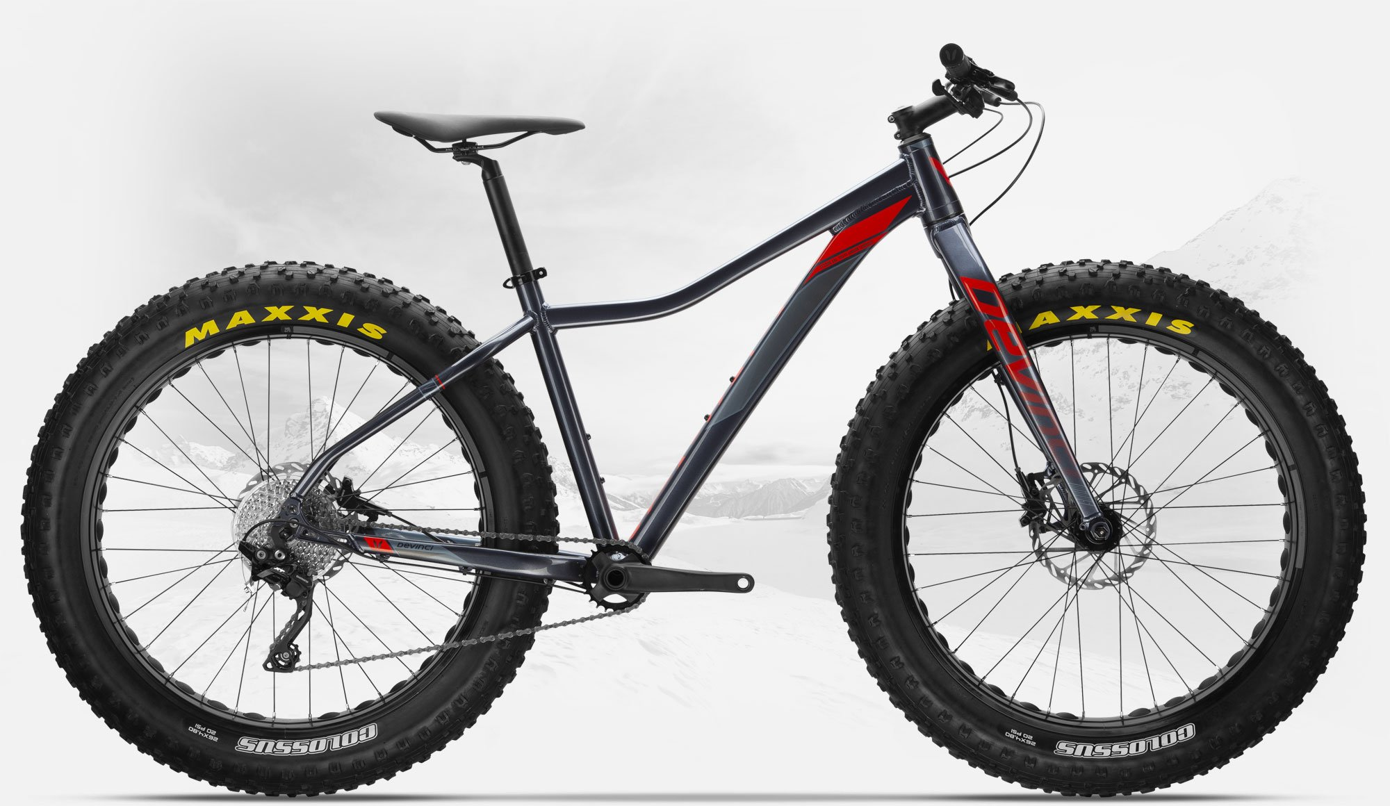 DEVINCI MINUS XT MED FAT BIKE