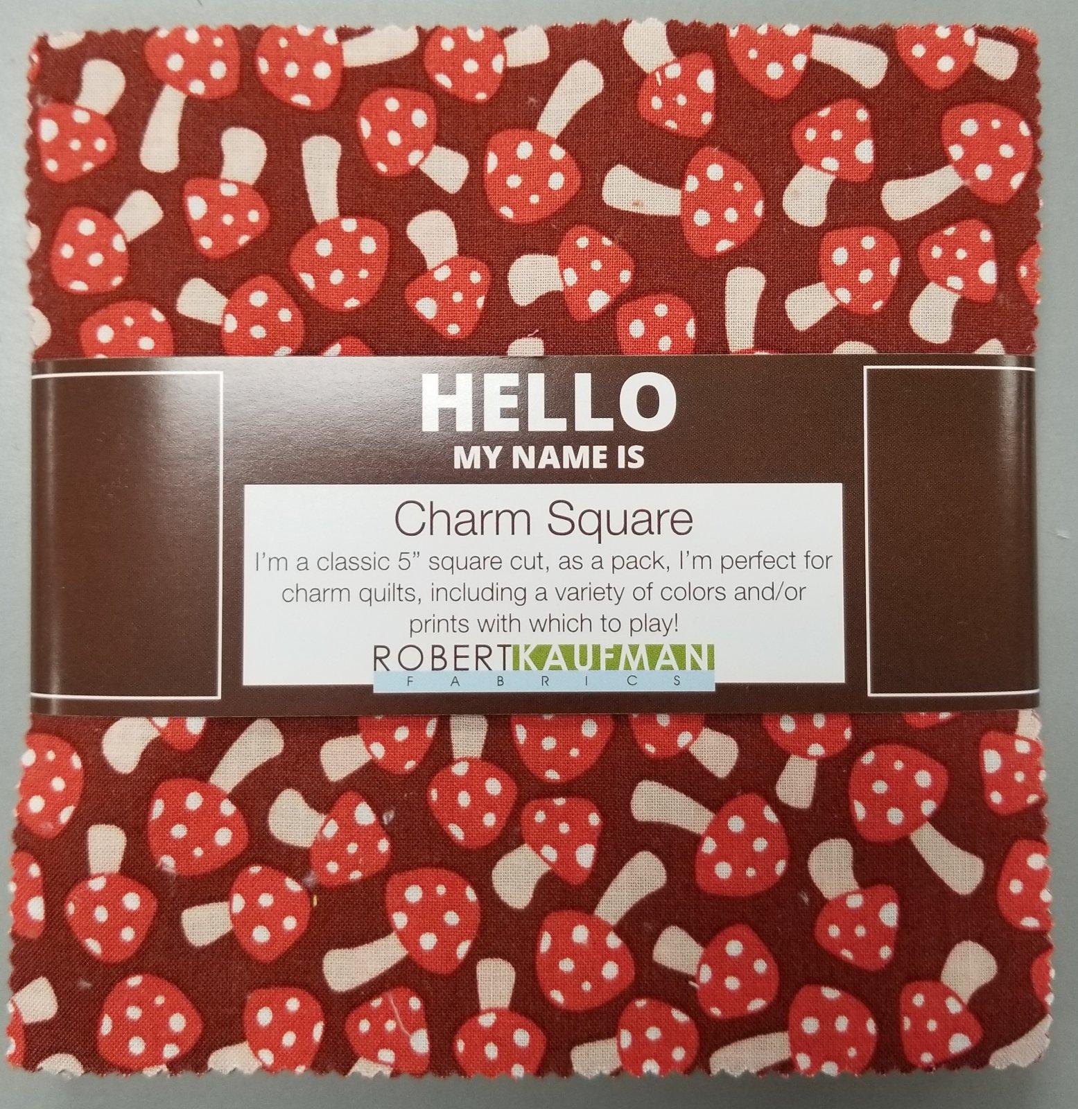 Charm Squares - Berry Season