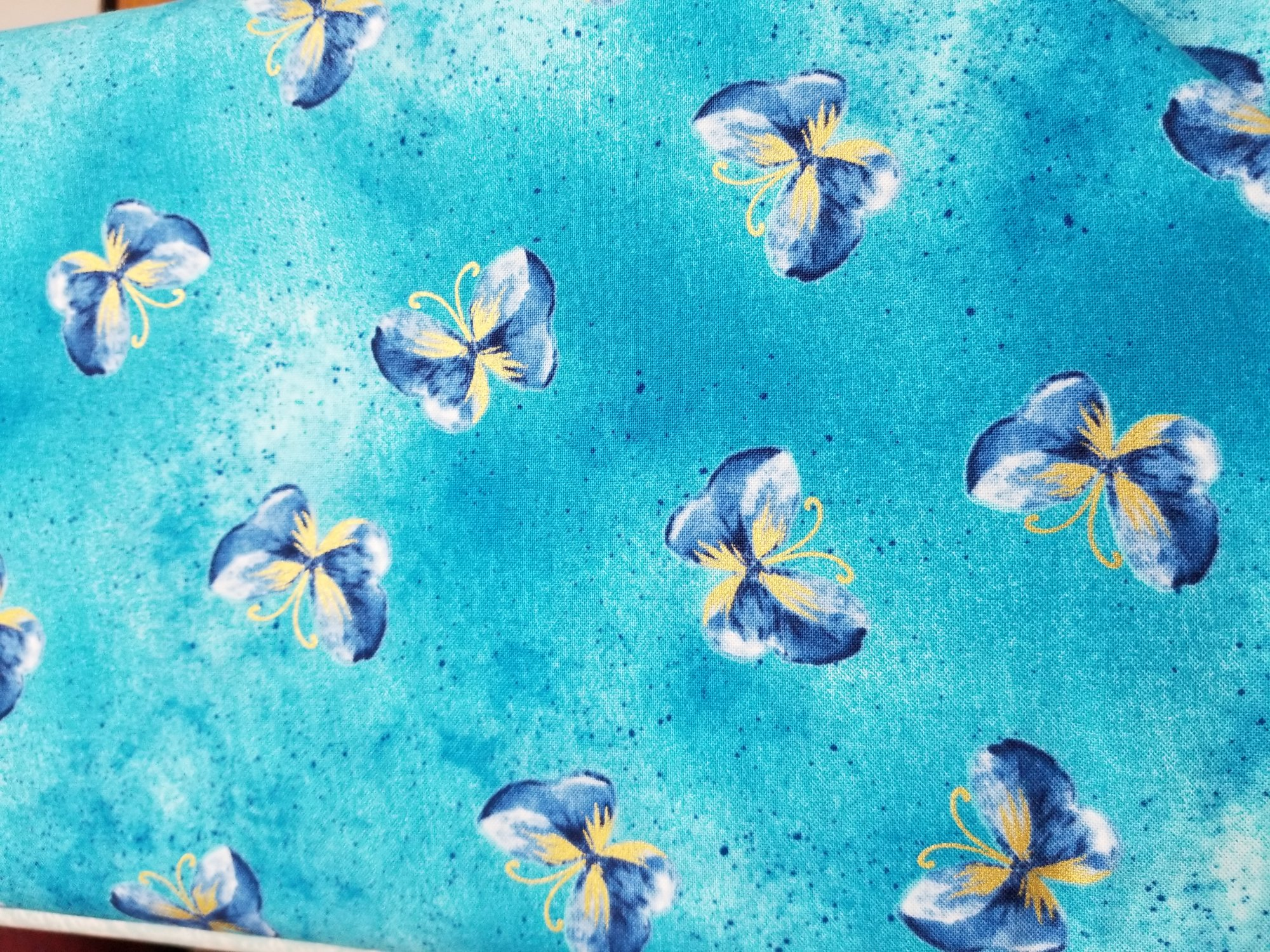Butterfly Wash Turquoise (Floral Impressions)
