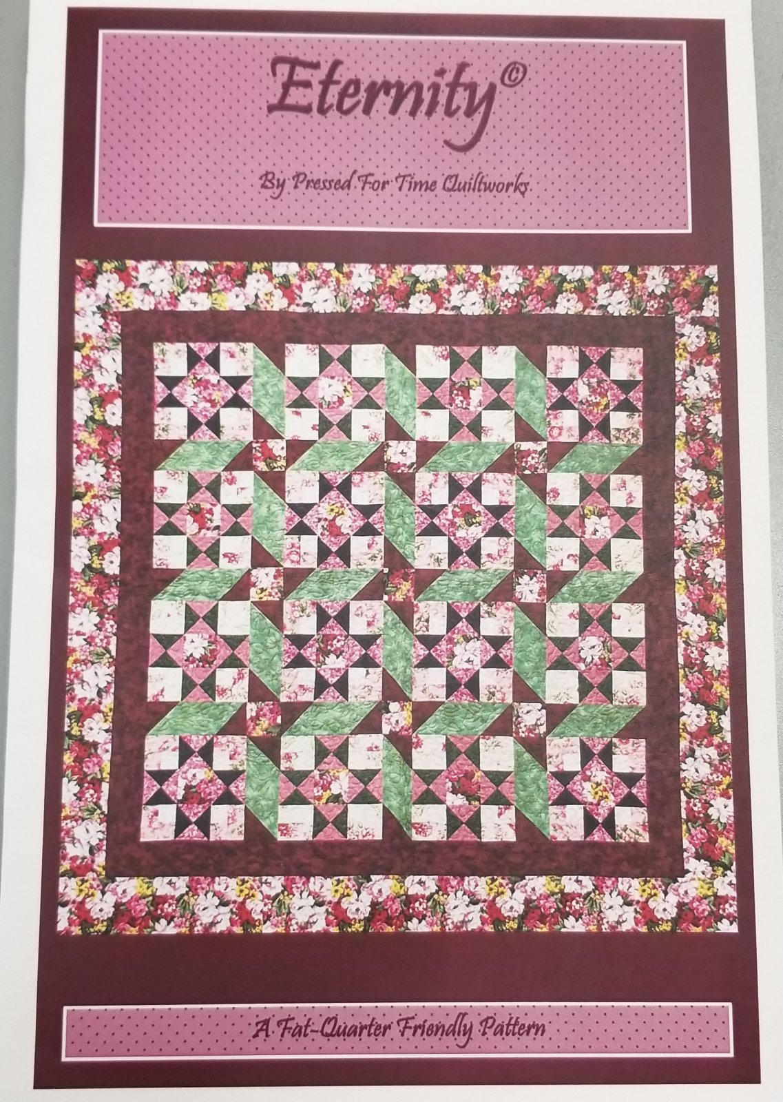 Eternity by Pressed For Time Quiltworks
