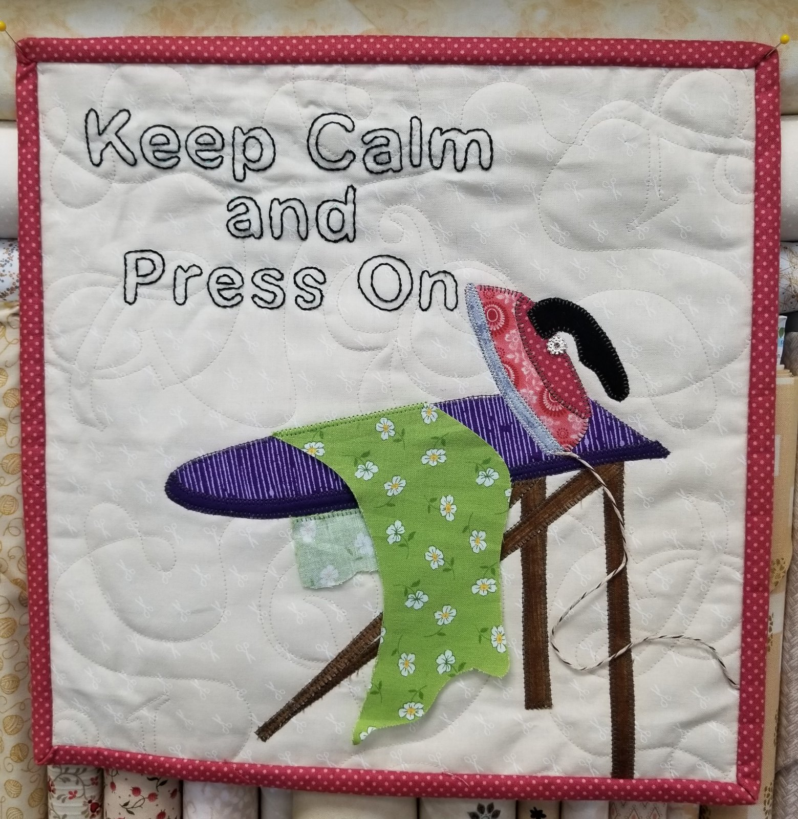 Keep Calm Press On Kit
