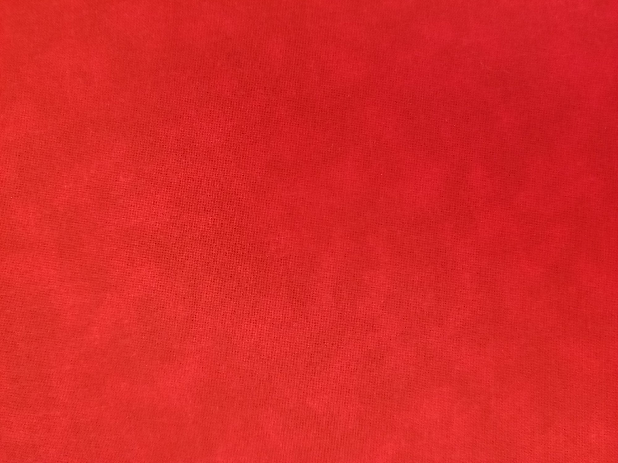 108 Plain Red Quilt Backing