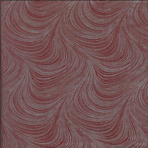 Pearlescent Wave Texture Burgandy BEN2966-89